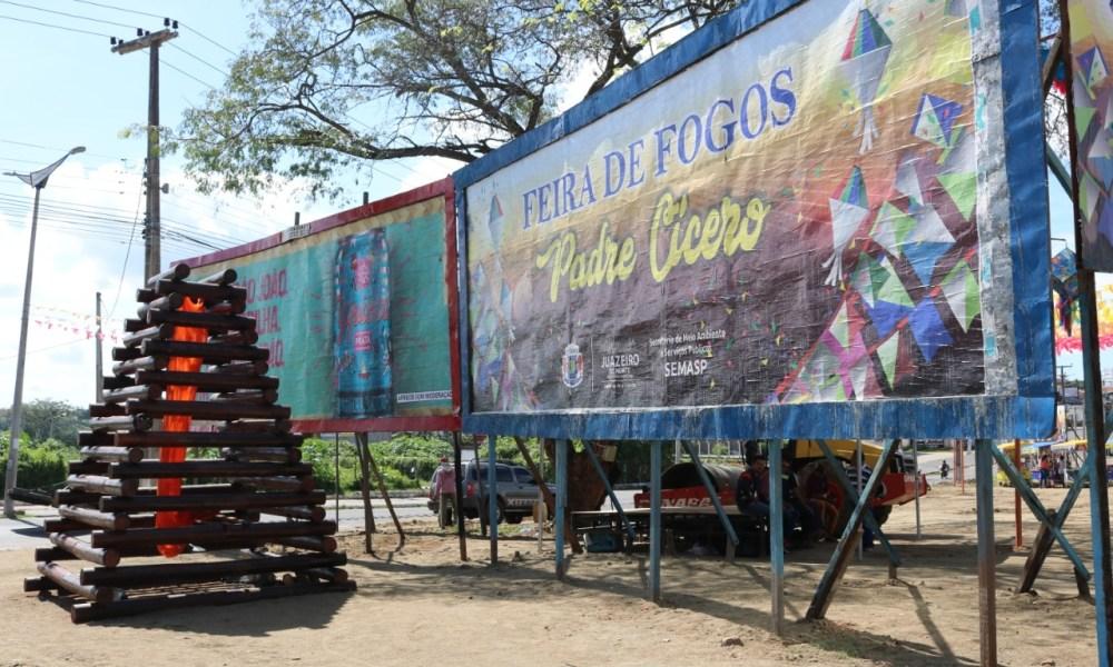 Tradicional Feira de Fogos está em novo local