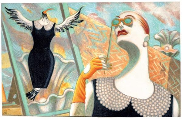 In Francia in mostra le opere di Lorenzo Mattotti