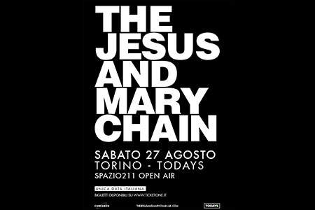 The Jesus And Mary Chain in concerto a Torino il 27 agosto