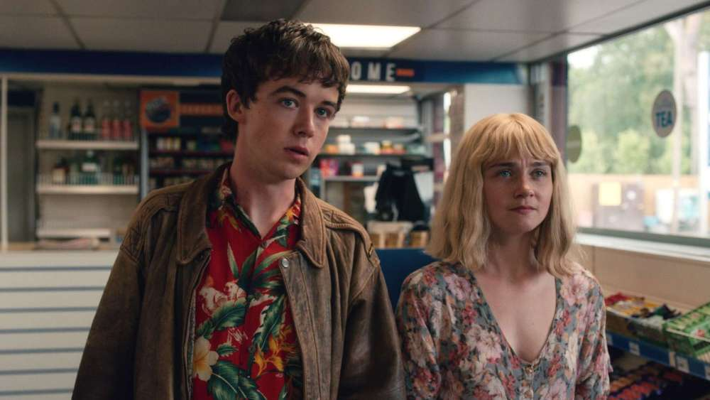 Alex Lawther and Jessica Barden in Season 1 | Netflix
