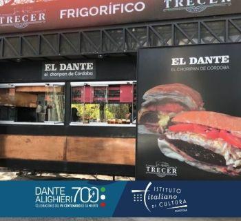 Carro de choripanes Dante Alighieri en el Parque Sarmiento