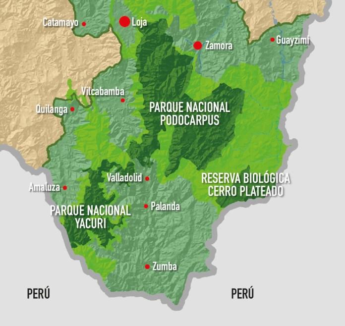 RESERVA DE BIOSFERA PODOCARPUS - EL CÓNDOR ES UN IMPORTANTE REFUGIO DE BIODIVERSIDAD
