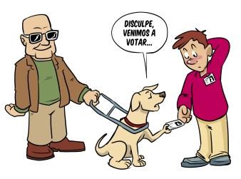 Accesibilidad para personas con discapacidad visual