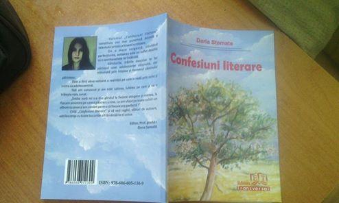 DARIA  STEMATE  -  CONFESIUNI  LITERARE