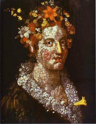 pusa roth arcimboldo bizar straniu portret flora cap compus manierism proza scurta feminitate