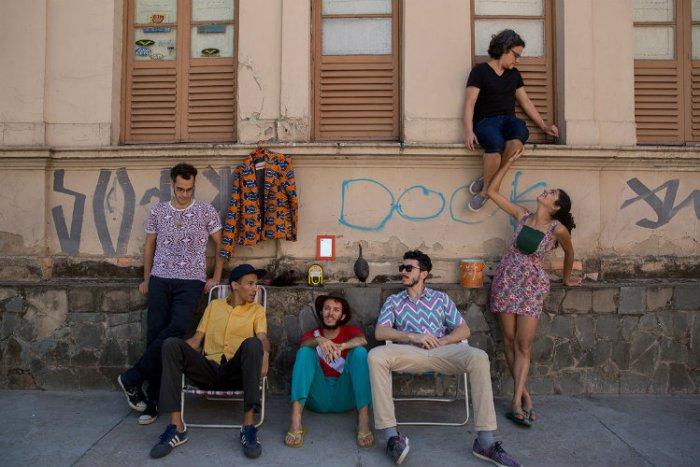 Integrantes da banda Graveola. Foto: Vânia Cardoso