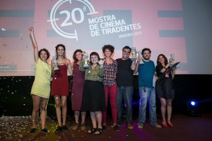 Premiados da 20ª Mostra de Cinema de Tiradentes. Local: Cine-Tenda - Foto Leo Lara/Universo Produção