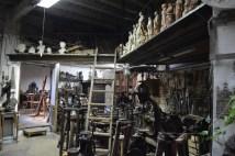Uno de los lugares de trabajo del taller - Fuente propia