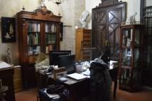 El despacho del taller, que apenas ha cambiado su decoración desde hace décadas - Fuente propia