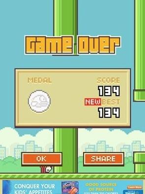 flappy bird cultura geek juego app