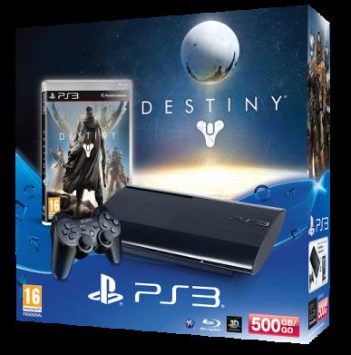 Destiny PS3 bundle Argentina - CulturaGeek.com.ar
