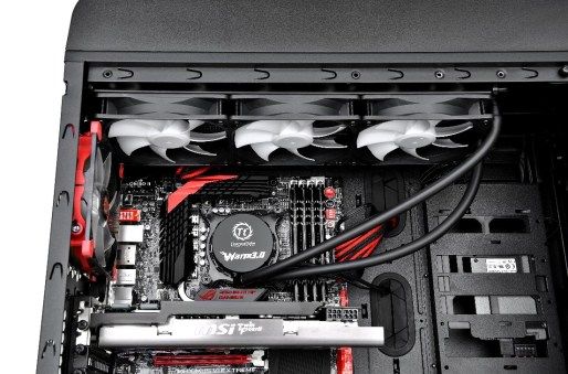 Thermaltake Water 3.0 Ultimate All-In-One Liquid Cooling System provides a simple installation system @culturageek