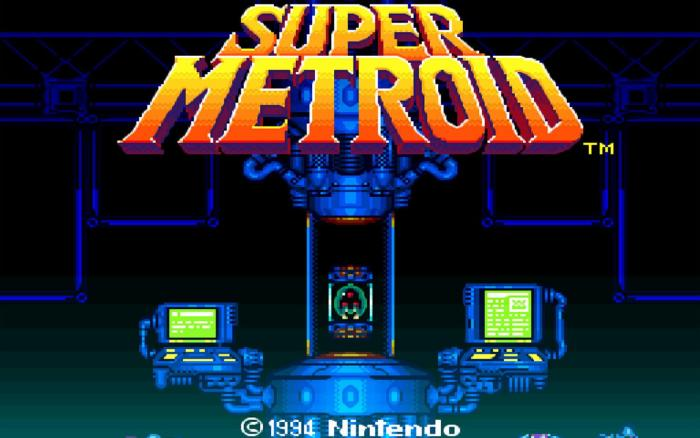 Cultura Geek Super Metroid