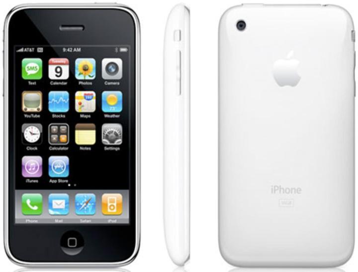iPhone 3GS.