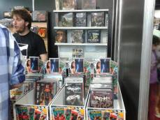 libros y revistas del Comic-con Argentina