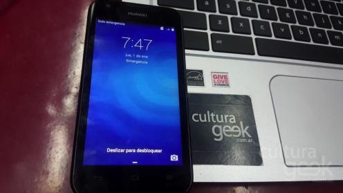 cultura geek Huawei Ascend Y550