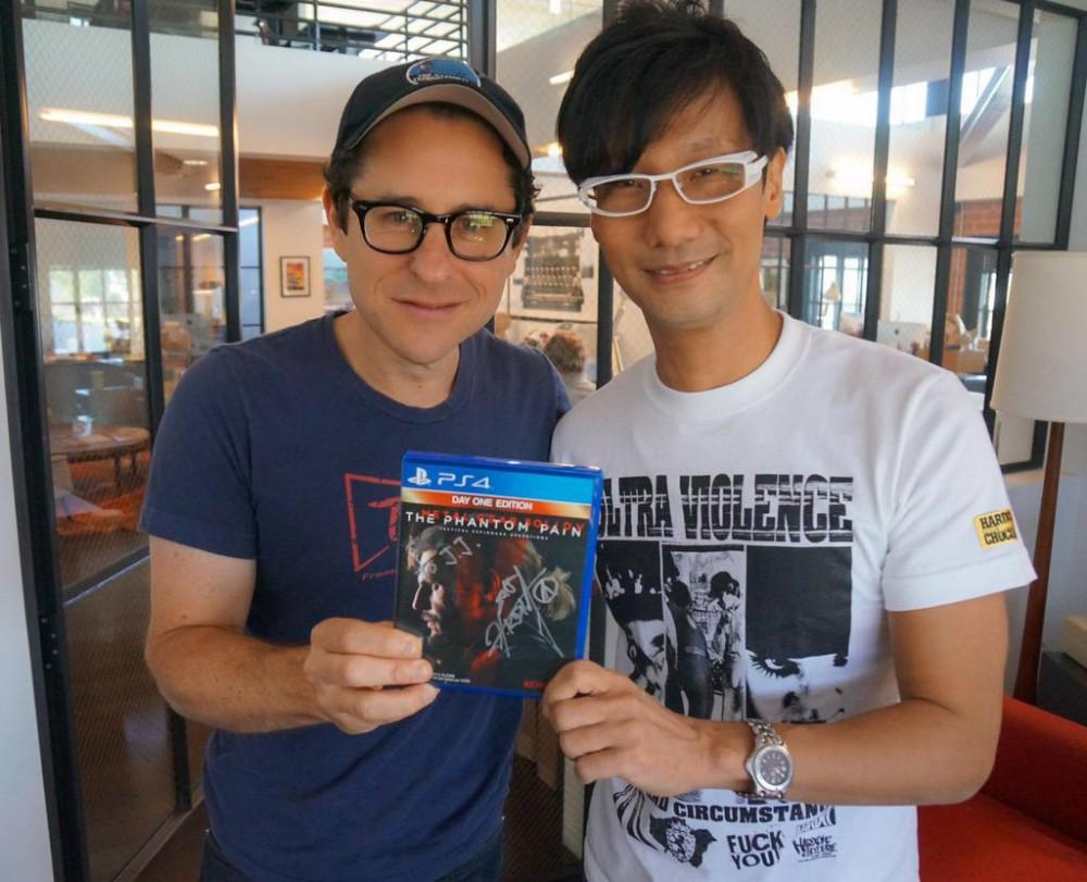 Cultura Geek Hideo Kojima JJ Abrams