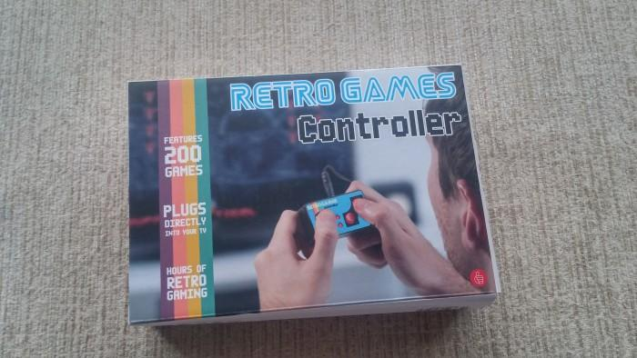 Cultura Geek Retro TV Gaming System 1