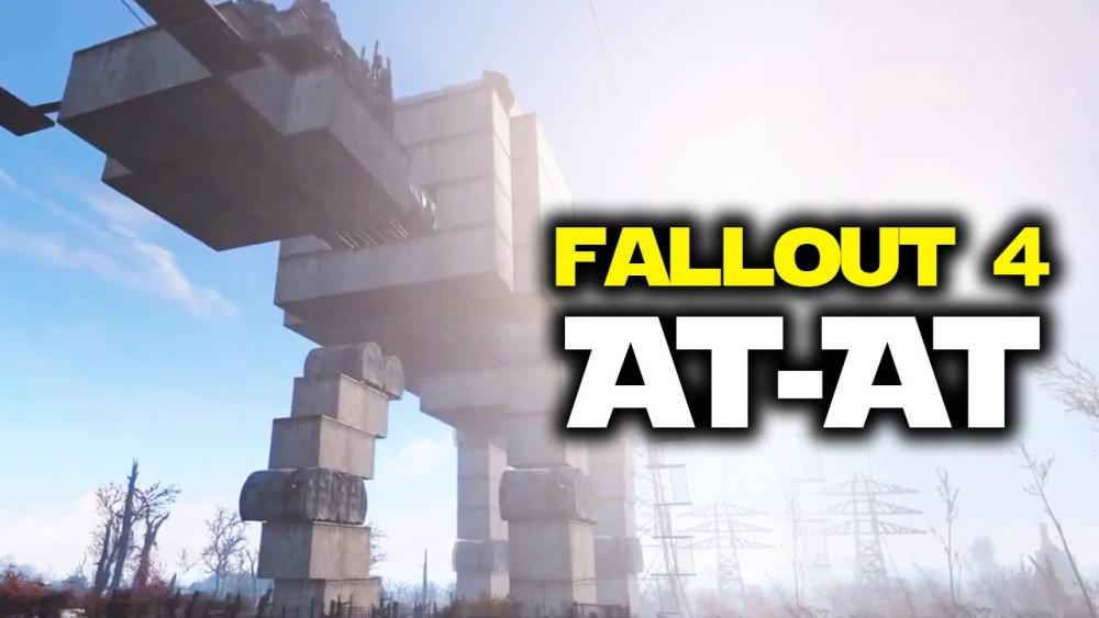 Cultura Geek Fallout 4 AT-AT 1