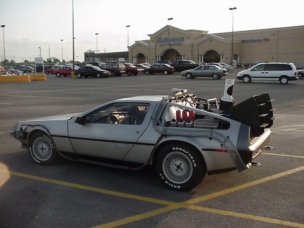Cultura Geek DeLorean 2