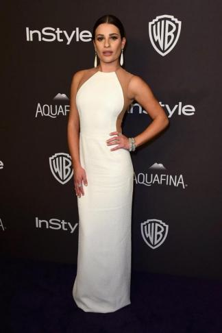 GG LEA MICHELE AFTER PARTY