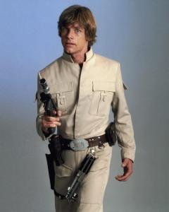 Star Wars luke blaster