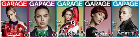 Garage Magazine Portadas