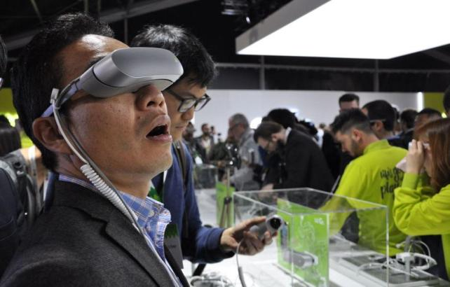 Cultura Geek LG G5 MWC 4