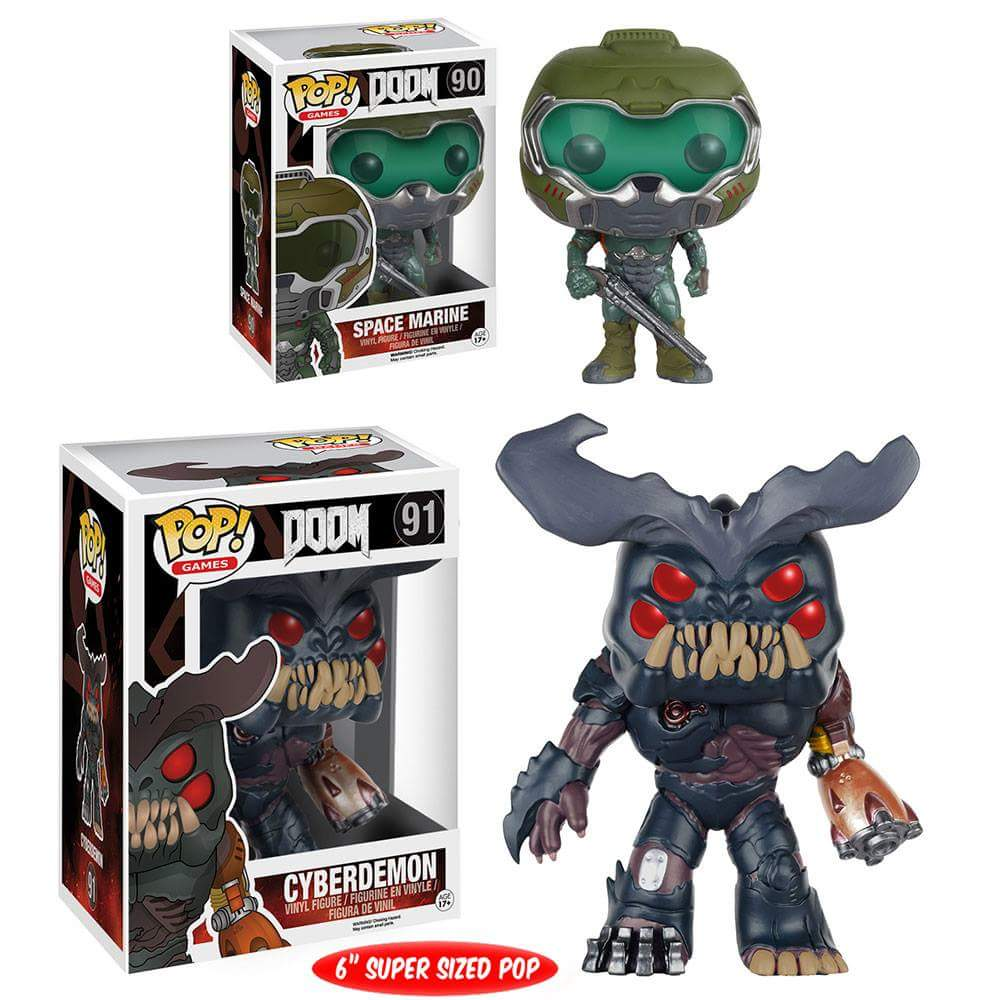 Cultura Geek DOOM Funko Pop