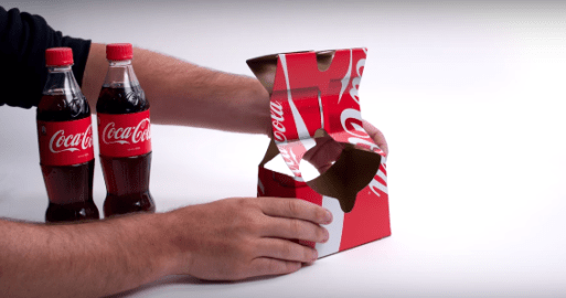 coca cola cardboard culturageek.com.ar 2