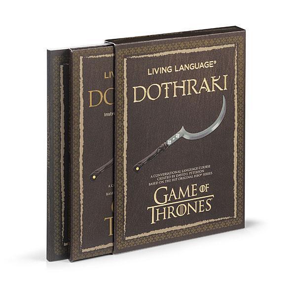 Cultura Geek Game of Thrones Libro Dothraki