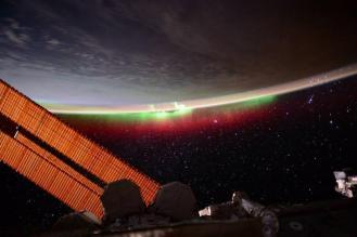 Imagenes tomadas durante la misión One Year. NASA.