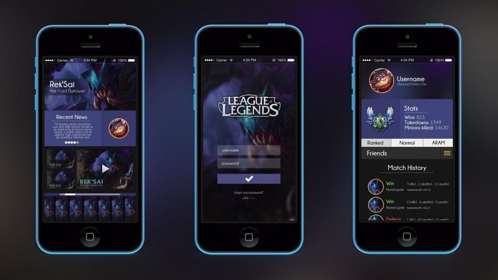 Cultura Geek League of Legends APP 1