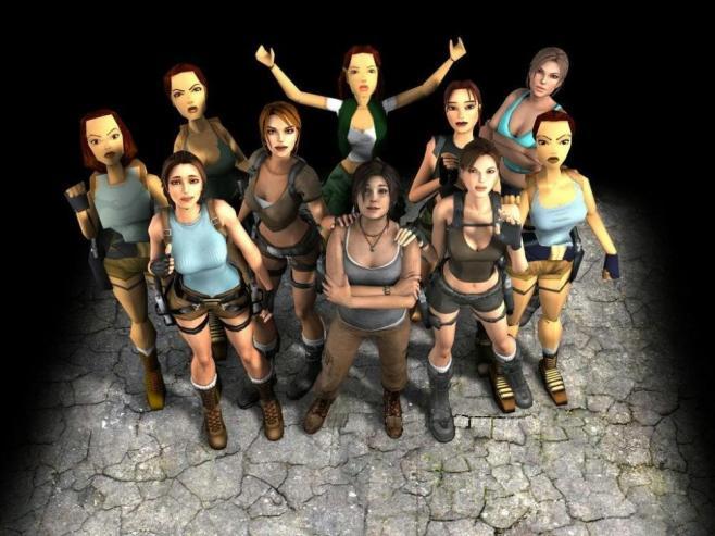 Mujeres en los videogames culturageek.com.ar tomb raider lara croft