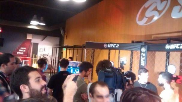 Cultura Geek UFC 2 Evento 1