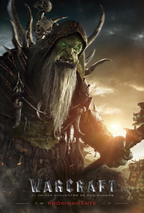 Cultura Geek Warcraft Posters Promocionales 8