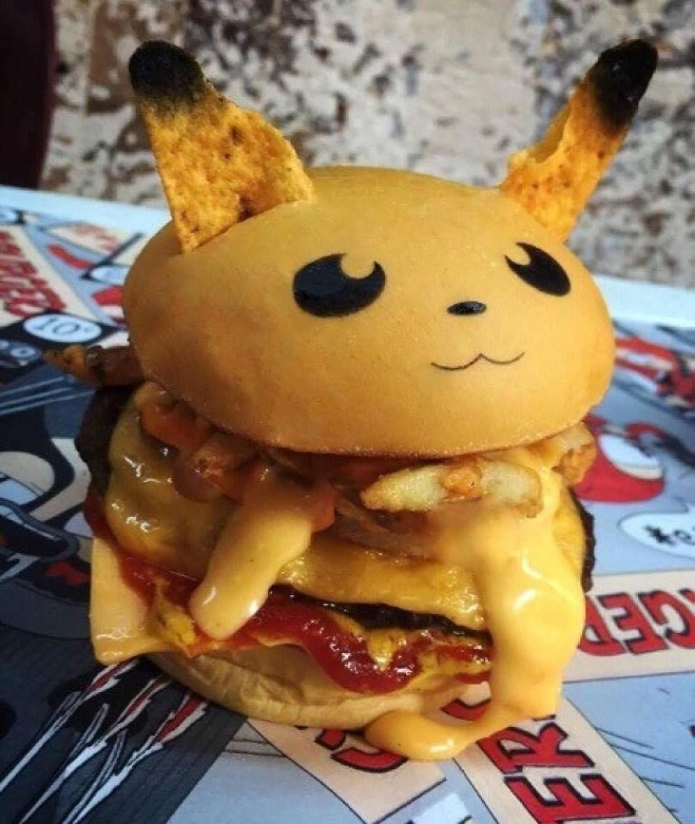 Pokemon hamburgesas Cultura Geek