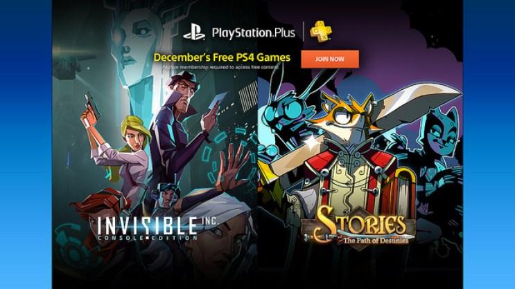Cultura Geek PlayStation Plus Diciembre 2016