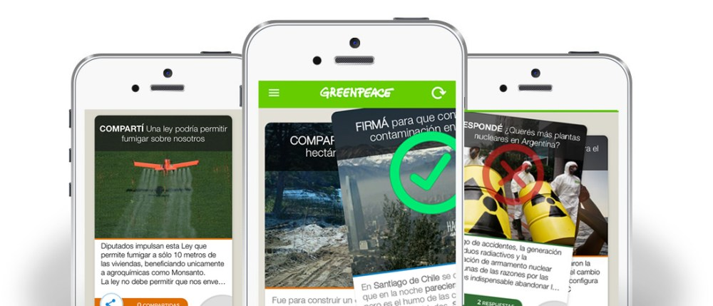 Greenpeace - www.culturageek.com.ar