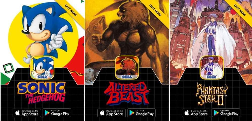 Sega Lanza Coleccion De Juegos Retro Gratis Para Ios Y Android