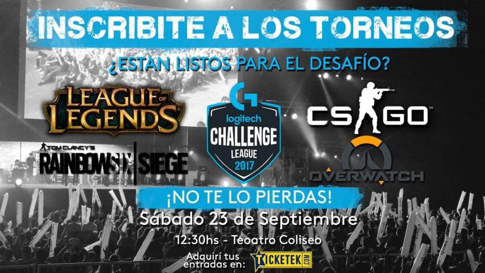 logitech g challenge 2017