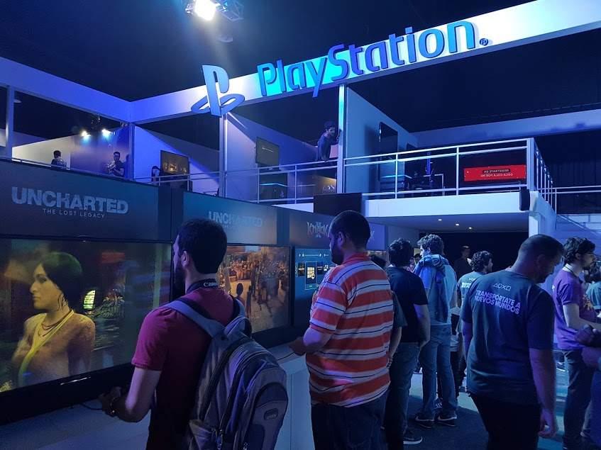 Ps4 Pro Y Psvr Playstation Presento En Ags Coca Cola For Me Precio