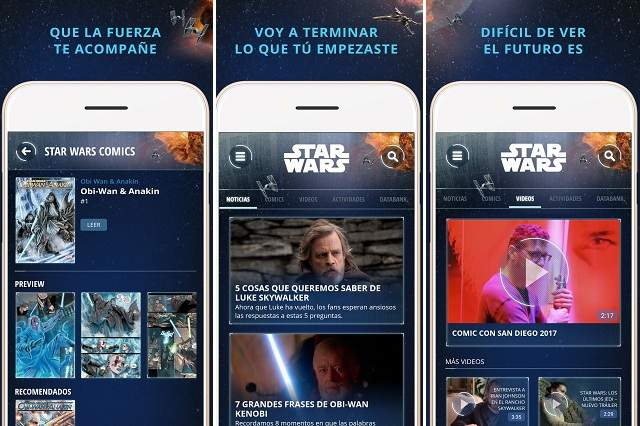 Star wars disney lanza una app oficial para latinoam rica for Catalogo obi 2017