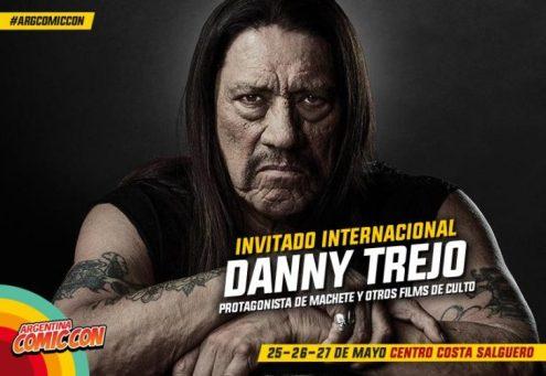 Culturageek.com.ar - Argentina Comic Con 2018 Game of Thrones Danny Trejo