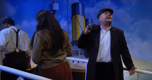 Titanic James Corden Ariana Grande - www.culturageek.com.ar