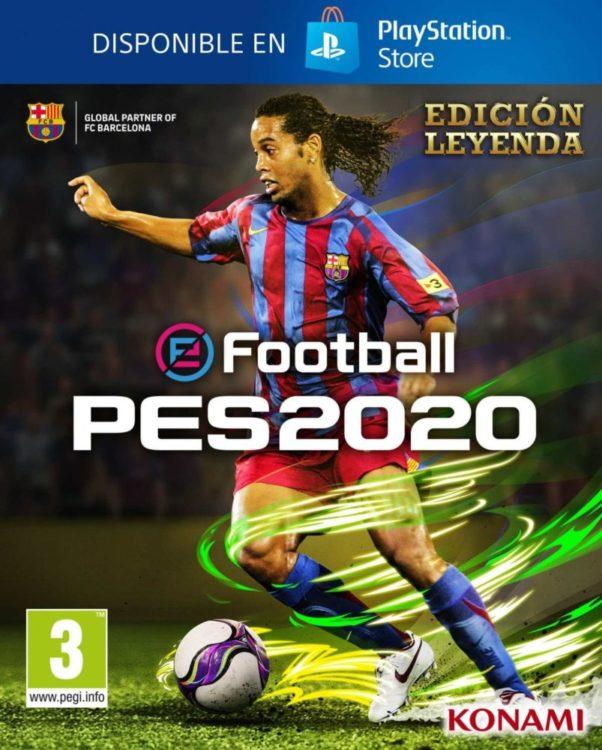 E3 2019: el PES 2020 llega con Messi en la portada, Maradona como