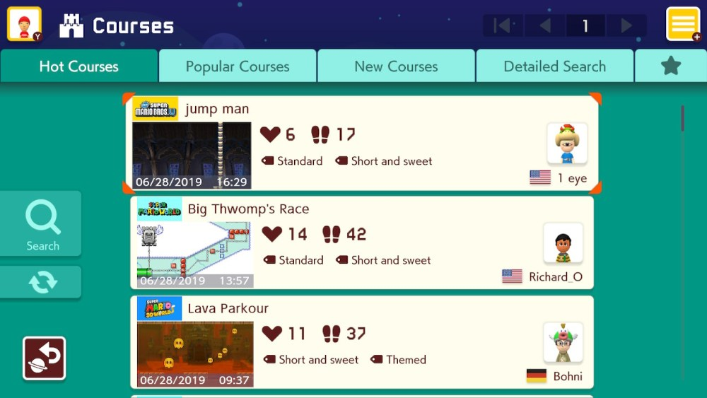 View Super Mario Maker 2: From Princess Rescue to request funding