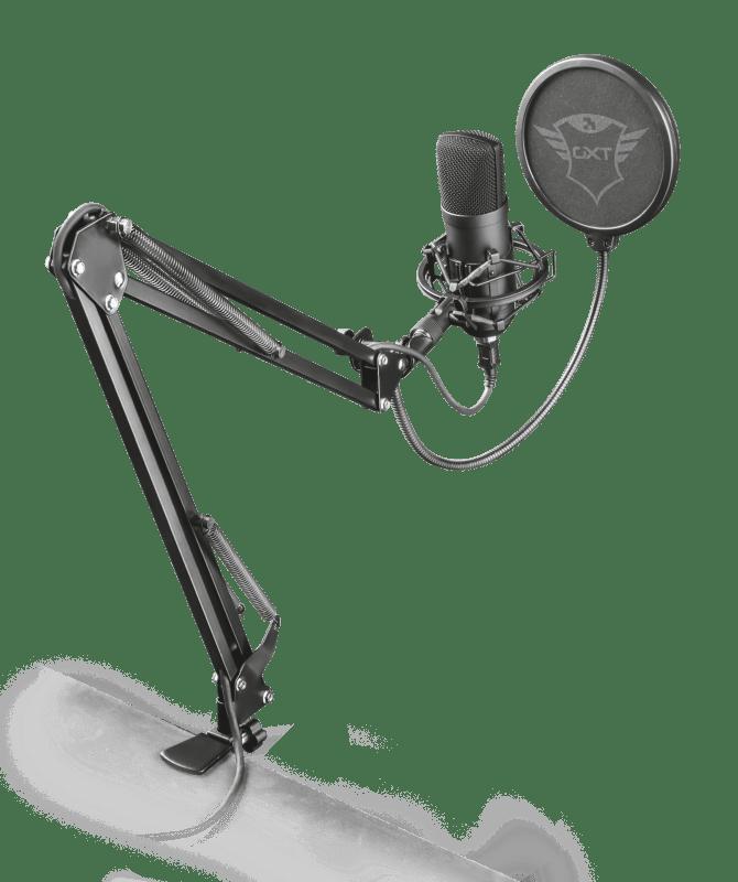 Trust Gaming micrófonos GXT 252 Emita www.culturageek.com.ar