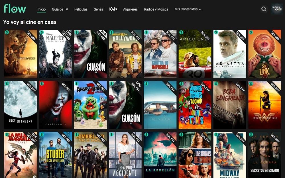 Top 5: películas clásicas y estrenos que podes disfrutar en Flow - Cultura  Geek