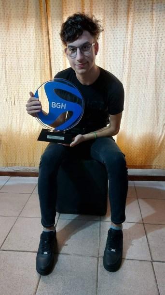 Franco Aguayo Campeón BGH